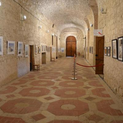 Une des salles d'expo