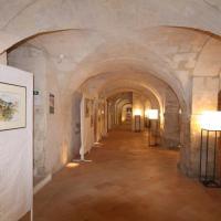 Le grand sous sol d'exposition