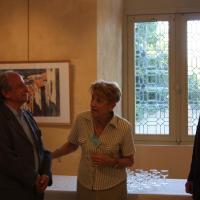 Christiane Juan, Pierre Bricet et le Maire de St Florent