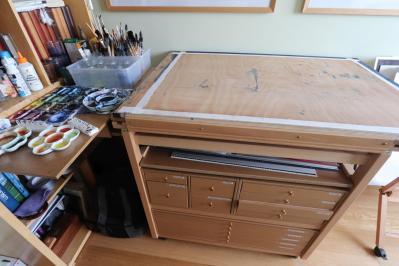 Le meuble plan de travail 2